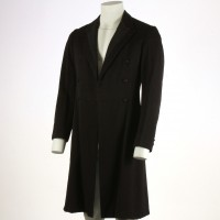 Mycroft Holmes (Christopher Lee) frock coat