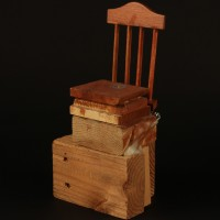 Real world police chair