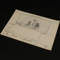 Production used storyboard sequence - Ivory Tower