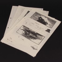 Brian Johnson personal storyboards & script pages - Night Hob
