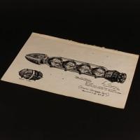 Ian Scoones hand drawn Ortega concept artwork - Mission to Destiny