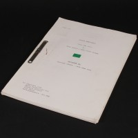 Production used script - Body and Soul