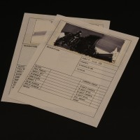 Hand drawn storyboard artworks - Cain in warehouse