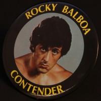 Rocky Balboa (Sylvester Stallone) supporter badge
