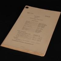 Dennis Spooner personal script - The Romans