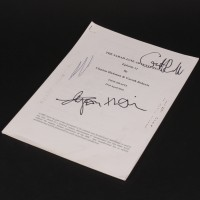 Gareth Roberts personal script - Goodbye, Sarah Jane Smith