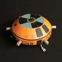 Nuclear charge mine miniature - Collision Course