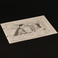 Production used storyboard - Superman & Lois