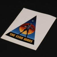 Early large Ralph McQuarrie production logo sticker