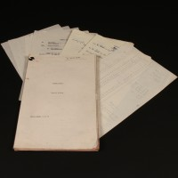 Production used script - Cover Story
