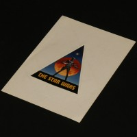 Early Ralph McQuarrie production logo sticker