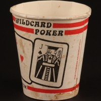 Wildcard poker full house coffee cup