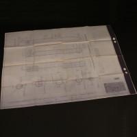 Art department blueprint - Escape shaft