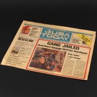USA Today newspaper - Gang Jailed