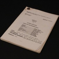 Production used script - The Armageddon Factor