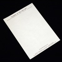 Production letterhead