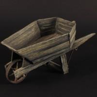 Wheelbarrow miniature