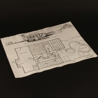 Production used concept design - Wonka's factory