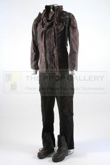 Future war soldier costume