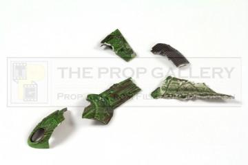 Bird of Prey miniature debris