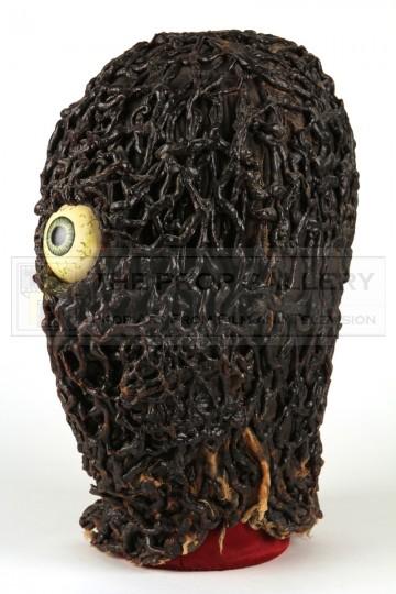 Scaroth (Julian Glover) reveal mask - City of Death
