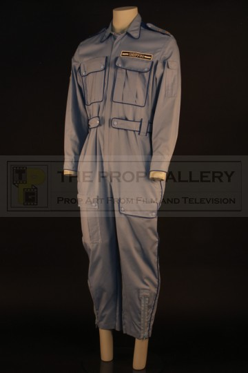 Commander Griffin (Daniel Benzali) flight suit