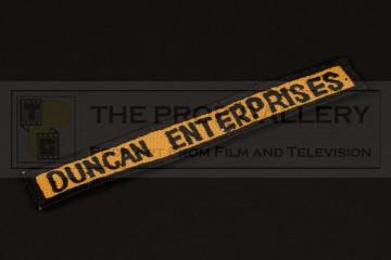 Duncan Enterprises costume patch