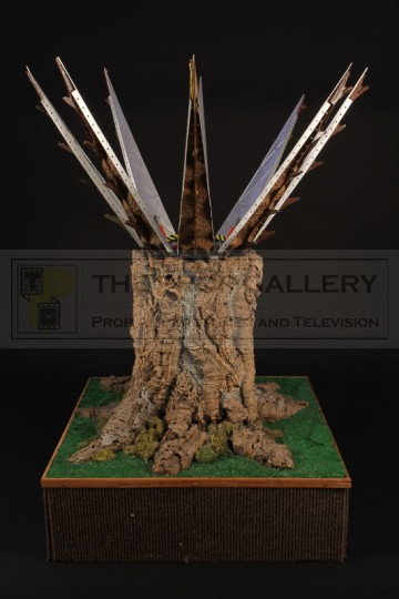 Treehawk launch tree miniature