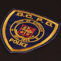 Gotham City Police Department costume patch