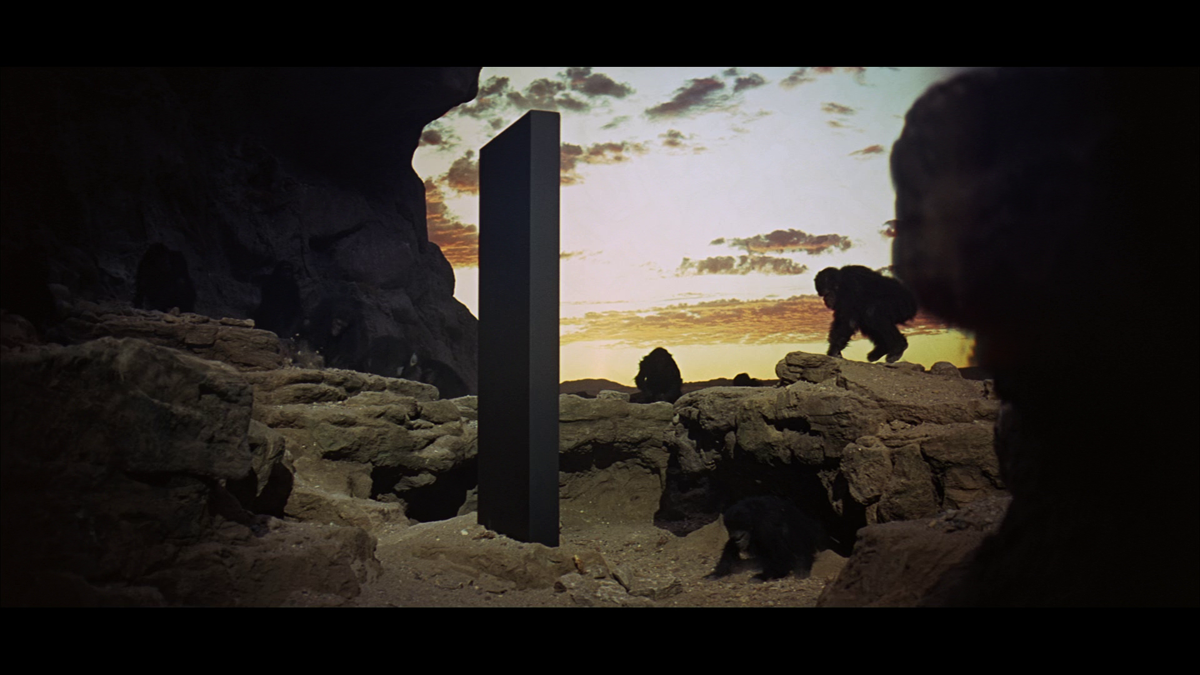 Original transparency used in the production of Stanley Kubrick's 2001: A Space Odyssey.