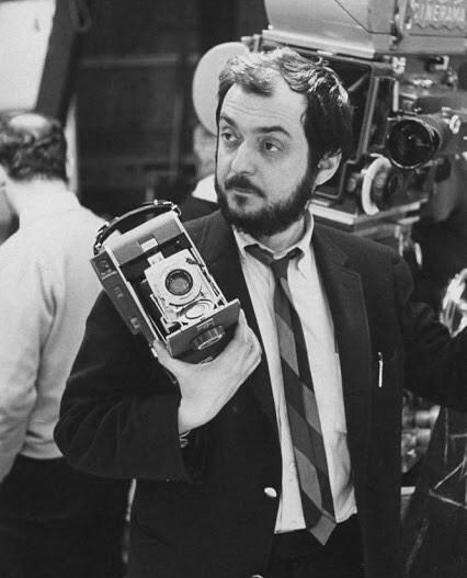 Stanley Kubrick during the production.