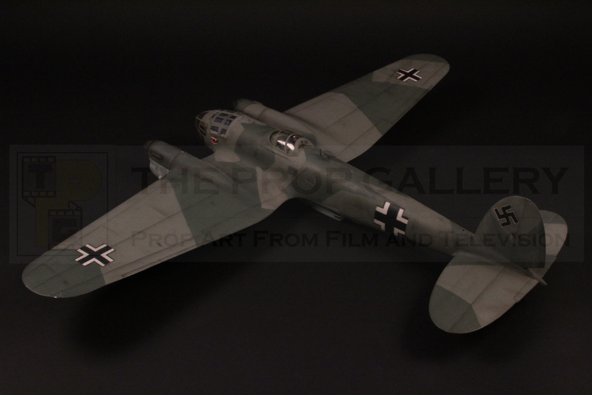 Original Heinkel He 111 filming miniature used in the production of Battle of Britain