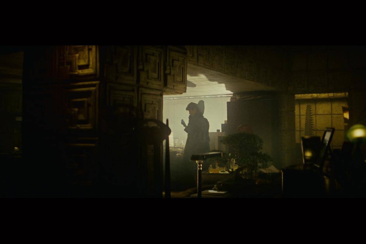 Rick Deckard's (Harrison Ford) apartment in Blade Runner (1982)