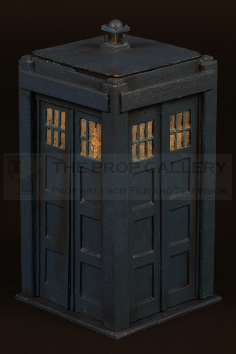 Original TARDIS miniature used on screen in the 1968 Doctor Who serial The Mind Robber