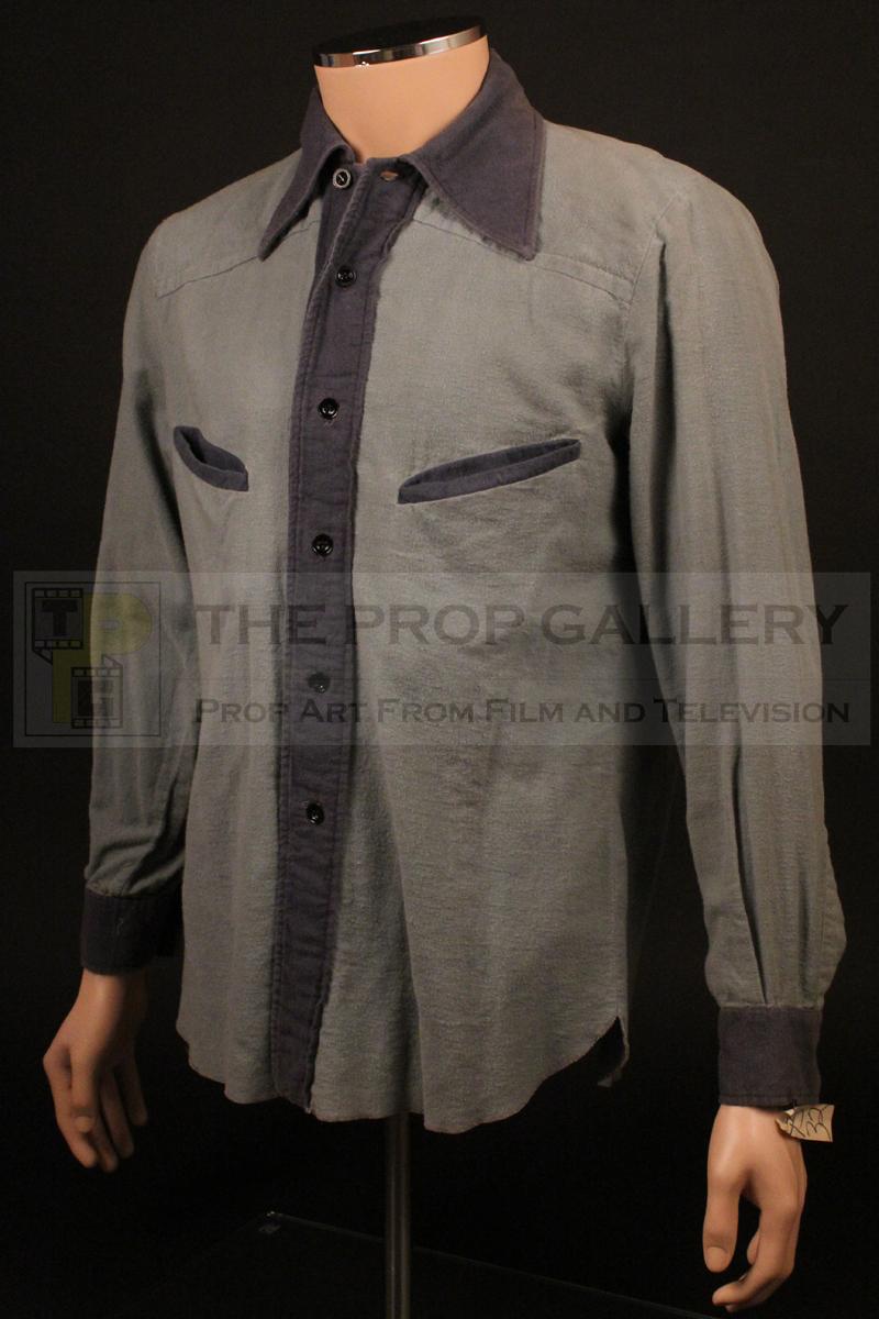 Original shirt worn by Robert De Niro as Vito Corleone in The Godfather Part II.