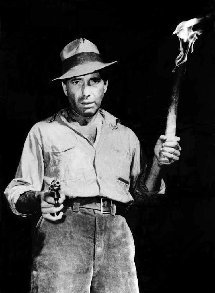 Humphrey Bogart as Fred C. Dobbs in The Treasure of the Sierra Madre