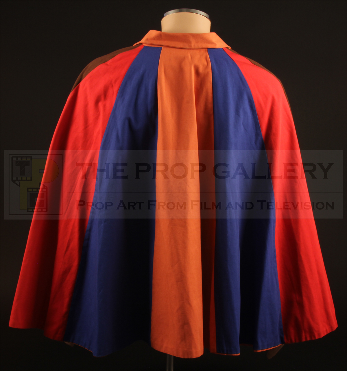 Original Number Fourteen (Sheila Allen) cape used in the production of The Prisoner.