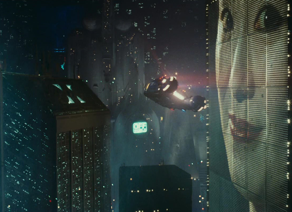 The city of Los Angeles in Blade Runner (1982)